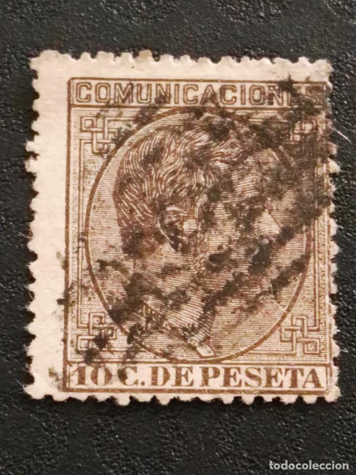 USADO - EDIFIL 192 - SPAIN 1878 ALFONSO XII (Sellos - España - Alfonso XII de 1.875 a 1.885 - Usados)
