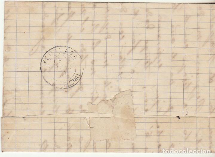 Sellos: Sello 204. BURGOS a YGUALDA. 1880. - Foto 2 - 73636687