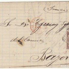 Sellos: SELLO 177 . A BAYONA 1878.. Lote 73745523