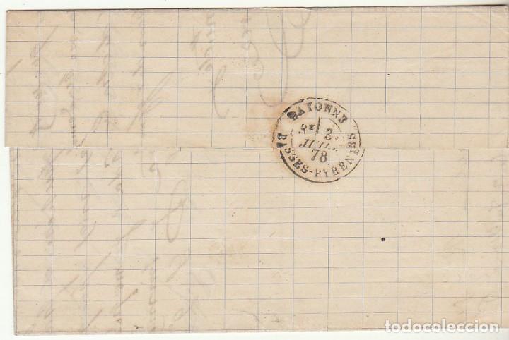 Sellos: Sello 177 . a BAYONA 1878. - Foto 2 - 73745523