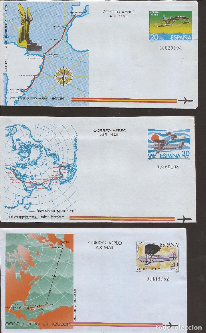 1981 Y 1982 ENTERO POSTAL CON SELLO IMPRESO (Sellos - España - Alfonso XII de 1.875 a 1.885 - Cartas)