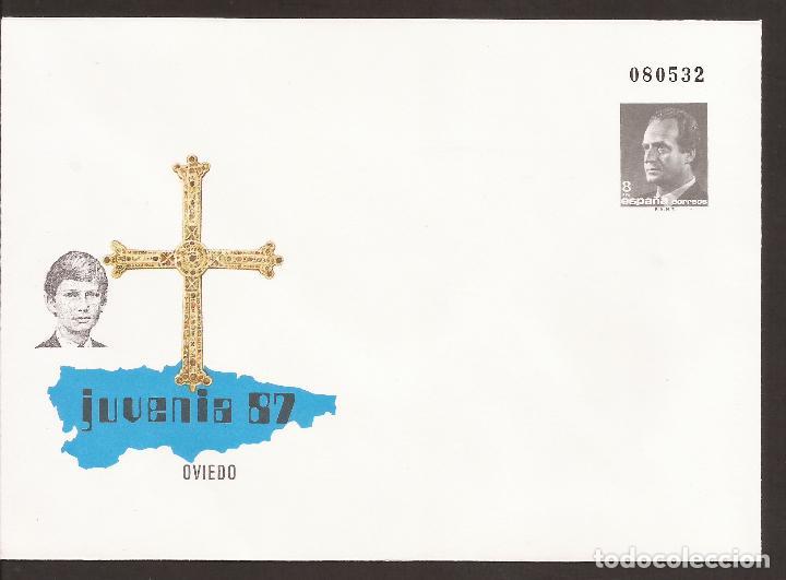 SOBRE ENTERO POSTAL COMMEMORATIVO OFICIAL (Sellos - España - Alfonso XII de 1.875 a 1.885 - Cartas)