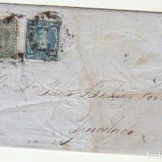 Sellos: SELLOS 175 Y 184. BARCELONA A YGUALADA. 1876.. Lote 75479147