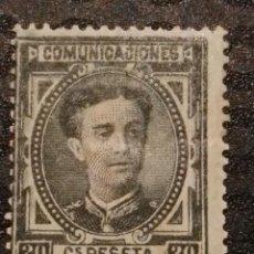 Sellos: NUEVO - EDIFIL 176 - SPAIN 1875 - CORONA REAL Y ALFONSO XII. Lote 75788567