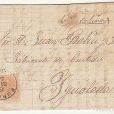 Sellos: SELLO 210 : BURGOS A YGUALADA. 1882.. Lote 75957831