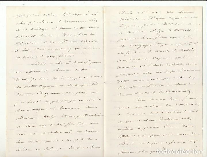 Sellos: Sello 210 : (SOBRE DE LUTO) a SEVILLA .....Sra CONDESA.....1892 - Foto 4 - 75961623