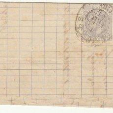 Sellos: SELLO 204 : BURGOS A YGUALADA. 1881.. Lote 77153641