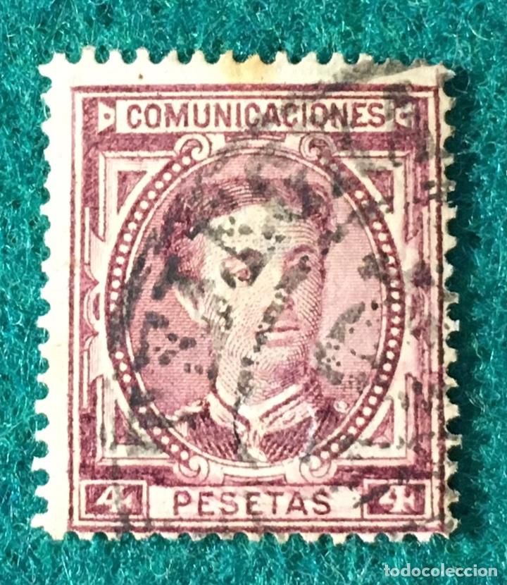 AÑO 1876. ALFONSO XII. Nº 181 (Sellos - España - Alfonso XII de 1.875 a 1.885 - Usados)
