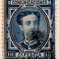 Timbres: 1876 - REINADO DE ALFONSO XII - ALFONSO XII - EDIFIL Nº 175. Lote 81062620