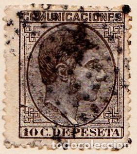 1878 - REINADO DE ALFONSO XII - ALFONSO XII - EDIFIL Nº 192 (Sellos - España - Alfonso XII de 1.875 a 1.885 - Usados)