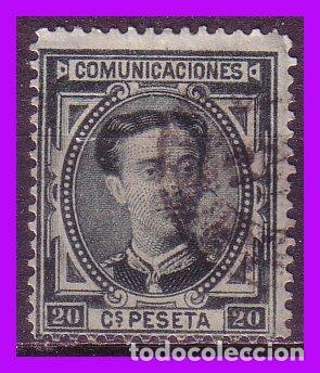 1876 CORONA REAL Y ALFONSO XII, EDIFIL Nº 176 (O) (Sellos - España - Alfonso XII de 1.875 a 1.885 - Nuevos)