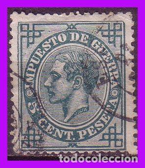 1876 ALFONSO XII, EDIFIL Nº 183 (O) (Sellos - España - Alfonso XII de 1.875 a 1.885 - Nuevos)