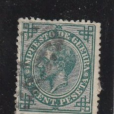 Selos: ESPAÑA 1876 - EDIFIL NRO. 183 - ALFONSO XII - 5C.- USADO. Lote 85220552