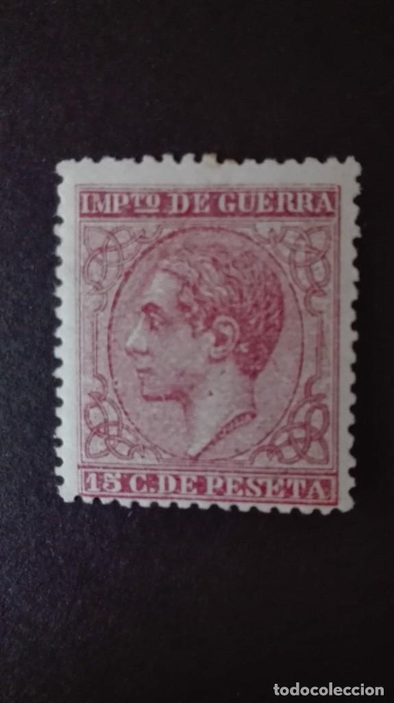 EDIFIL 188** NUEVO ALFONSO XII 1877 IMPUESTO DE GUERRA CATÁLOGO 35 € (Sellos - España - Alfonso XII de 1.875 a 1.885 - Nuevos)