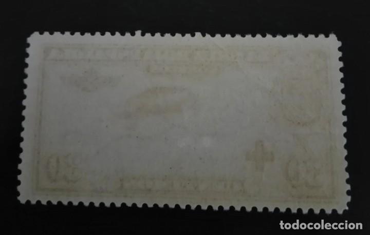 Sellos: ESPAÑA,1926,PRO CRUZ ROJA ESPAÑOLA,CORREO AÉREO,EDIFIL 344*,NUEVO,SEÑAL FIJASELLO,(LOTE AR) - Foto 2 - 97780799