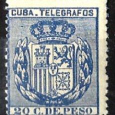 Sellos: 1881 EX-COLONIA ESPAÑOLA ANTILLAS EDIFIL T-79** NUEVO. Lote 98603847