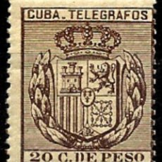 Sellos: 1881 EX-COLONIA ESPAÑOLA ANTILLAS EDIFIL T-83** NUEVO. Lote 98603867