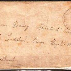 Sellos: CARTA DE 1832 DE SANT VICENS A BARCELONA FRANQUEO Nº 659. Lote 102101411