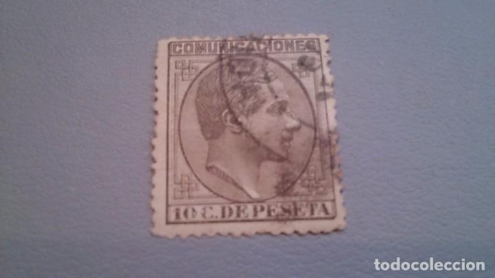 1878 - ALFONSO XII - EDIFIL 192 -BIEN CENTRADO. (Sellos - España - Alfonso XII de 1.875 a 1.885 - Usados)