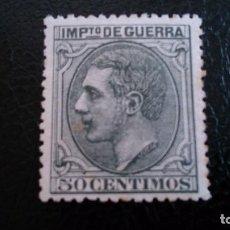 Sellos: 1879 - ALFONSO XII - NO EXPENDIDOS - NE 8 - CENTRADO - MH* NUEVO CON FIJASELLOS.. Lote 103068183