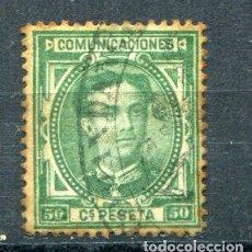 Sellos: EDIFIL 179. 50 CTS ALFONSO XII, AÑO 1876, USADO Y CON ÓXIDO VISIBLE EN LA FOTO.. Lote 105996071