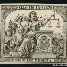 Sellos: FISCAL PÓLIZA DE 50 C. DE PESETA DE 1879. Lote 108324143