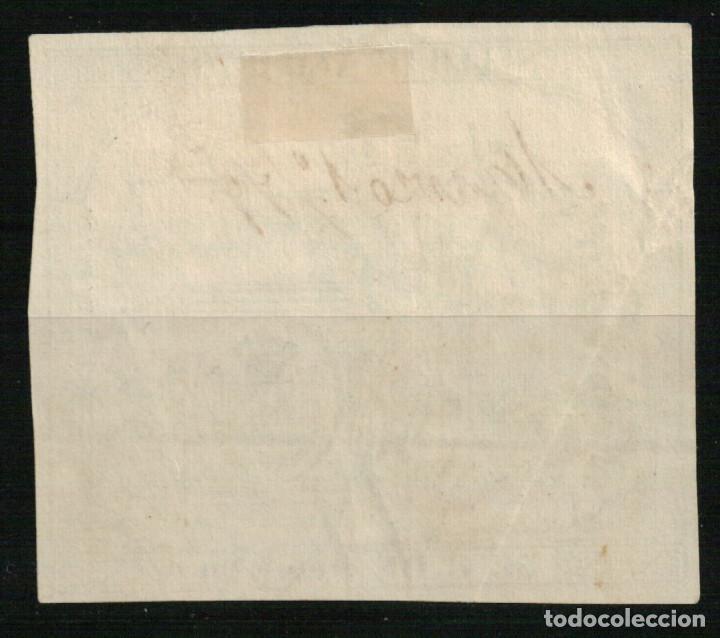 Sellos: Fiscal Póliza de 50 c. de peseta de 1879 - Foto 2 - 108324143