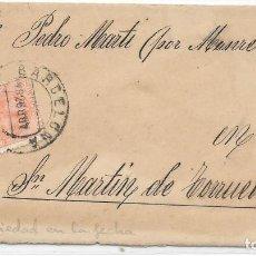 Sellos: EDIFIL 210. VARIEDAD EN EL FECHADOR. TODAS LAS CIFRAS A LA DERECHA DEL MES. RARISIMA. Lote 111855191