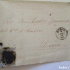 Sellos: ANTIGUA CARTA MANUSCRITA CON SELLO- 1870. Lote 111879315