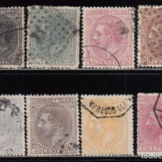 Sellos: ESPAÑA , 1879 EDIFIL Nº 200, 201, 202, 203, 204, 205, 206, 207, . Lote 115245411