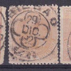 Sellos: CC13-CLÁSICOS EDIFIL 210. MATASELLOS TRÉBOL BILBAO . Lote 115630319