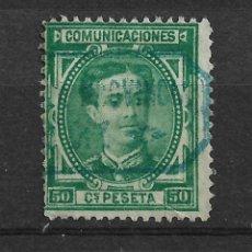Sellos: ESPAÑA 1876 EDIFIL 179 USADO - 20/4. Lote 118061475