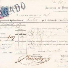 Sellos: AP29-FISCALES LIBRAMIENTO CUPONES 1879. TIMBRE MÓVIL + IMPUESTO GUERRA. Lote 118216895