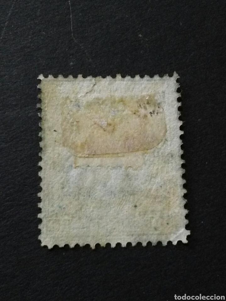 Sellos: 1876.1 DE JUNIO. ALFONSO XII. 10 CTS. NUEVO CON CHARNELA. - Foto 2 - 123032870