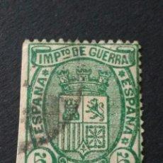 Sellos: 1875. 1 DE ENE. ESCUDO DE ESPAÑA. 5 CTS.. Lote 123037043