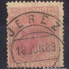 Sellos: ESPAÑA 1879 EDIFIL 207 USADO - 6/25. Lote 125191055