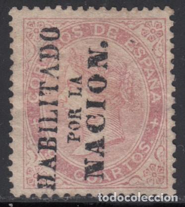 ESPAÑA,1868 GOBIERNO PROVISIONAL. EDIFIL Nº 90 , MADRID (Sellos - España - Alfonso XII de 1.875 a 1.885 - Nuevos)