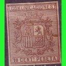 Sellos: 1874 ESCUDO DE ESPAÑA, EDIFIL Nº 153S *. Lote 132271198