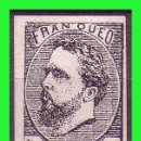 Sellos: CORREO CARLISTA, 1873 CARLOS VII, EDIFIL Nº 156 (*) PRUEBA. Lote 132282954