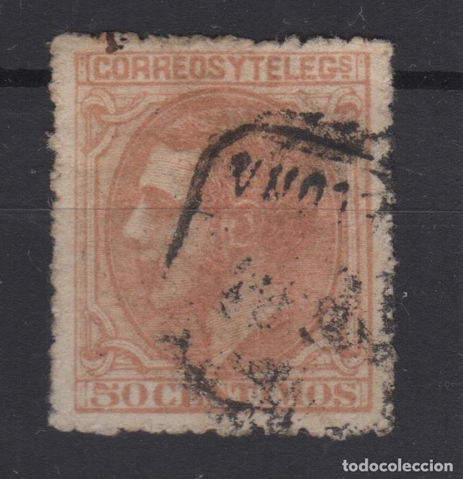 1879 ALFONSO XII EDIFIL 206(º) VC 7,25€ (Sellos - España - Alfonso XII de 1.875 a 1.885 - Usados)