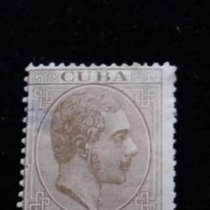 Sellos: SELLO ALFONSO XII CUBA 1876.- 20 CTS DE PESO,. Lote 140146002