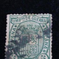 Sellos: ESPAÑA IMPUESTO DE GUERRA 5 CENTIMOS.- 1975. Lote 140306490