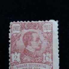 Sellos: SELLO CORREOS ESPAÑA, SAHARA RIO DE ORO. ALFONSO XIII. 2 CENT. AÑO 1921. USADO. Lote 141359890