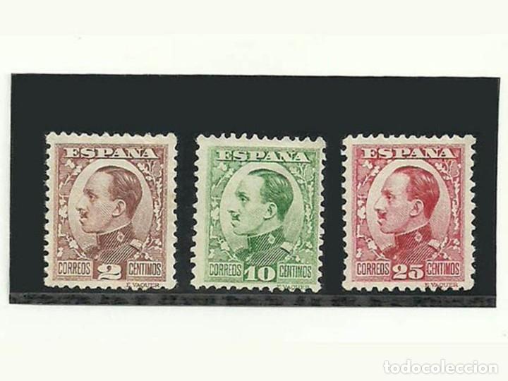 1930, EDIFIL 490, 492 Y 495 NUEVOS CON CHARNELA EL 495 CON GOMA. 2 10 Y 25 CÉNTIMOS (Sellos - España - Alfonso XII de 1.875 a 1.885 - Nuevos)