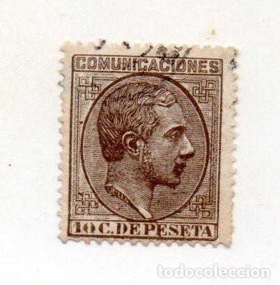1878 - ESPAÑA - ALFONSO XII- EDIFIL Nº 192 (Sellos - España - Alfonso XII de 1.875 a 1.885 - Usados)
