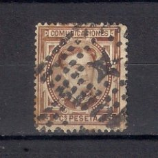 Sellos: ESPAÑA 1876 EDIFIL 174 USADO - 1/45. Lote 143787698