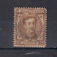 Sellos: ESPAÑA 1876 EDIFIL 177 USADO - 1/45. Lote 143788454