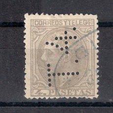 Sellos: ESPAÑA 1879 EDIFIL 208T - 208 T.4 - 20/2. Lote 143934270