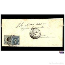 Timbres: ESPAÑA 1876. CARTA A CARRER DE GRANADA EN BARCELONA CON SELLOS Nº 175 Y 183. USADO. Lote 51049544