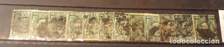 EDIFIL 179. X12 (Sellos - España - Alfonso XII de 1.875 a 1.885 - Usados)